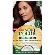 Tintura Soft Color 40 Castanho Médio