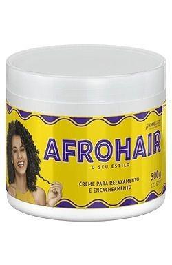 Creme Relaxamento E Encacheamento Afro Hair Embelleze 500g