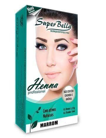 Henna Super Bella Marrom + Anel