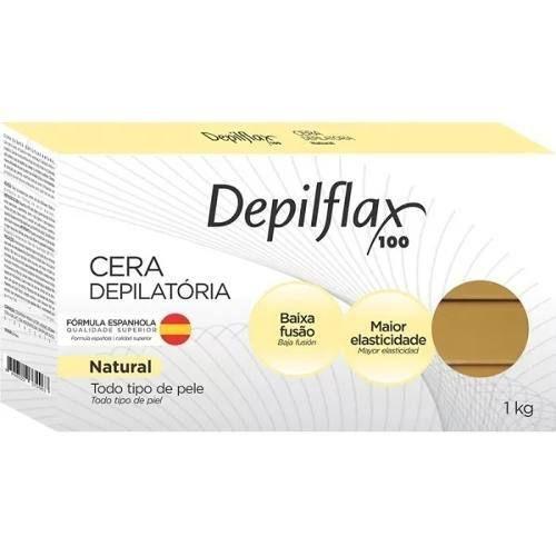 Cera Dep Depilflax 1000g Quente