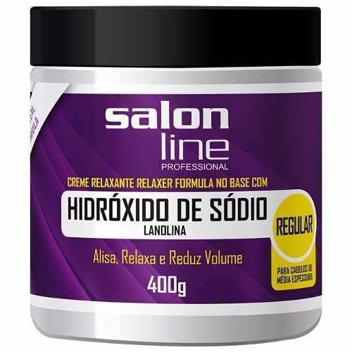 Hidróxido De Sódio Salon Line Tradicional Regular 400gr