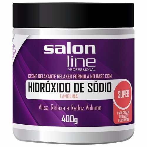 Hidróxido De Sódio Salon Line Super 400g