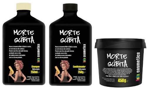 Morte Subita Shampoo + Cond + Mascara Lola Cosmetics