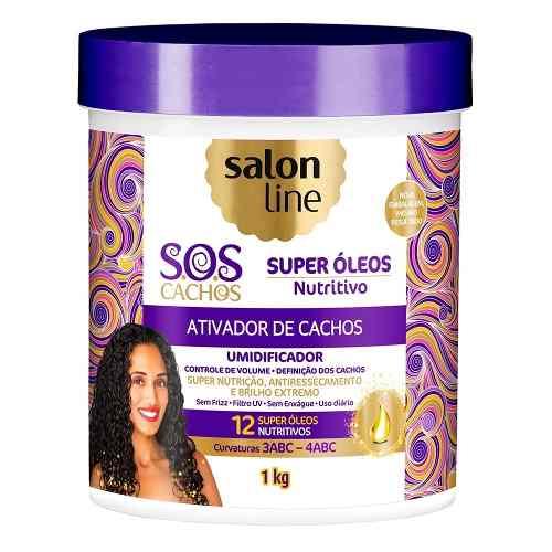 Ativador De Cachos Salon Line S.o.s 1kg