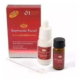 Henna Sobrancelha Expressão Facial 2.5g 7 Cores Disponivel