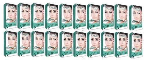 Kit Henna Super Bella 20 Unidades 1.25g Cada