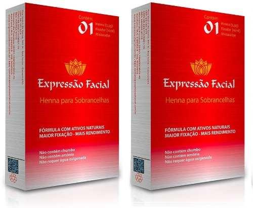 Henna Expressão Facial 2,5g 2 Unidades