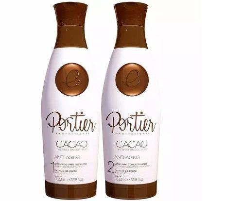 Portier Cacao Escova Progressiva 2x1000ml