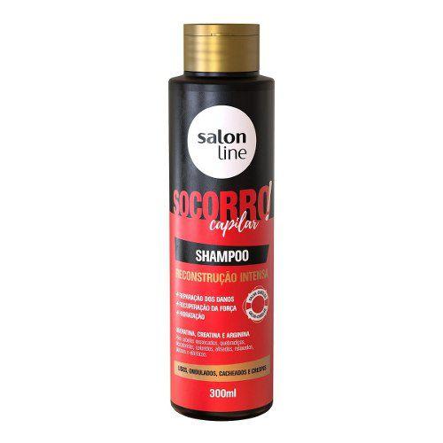 Shampoo Socorro Capilar Reconstrução Intensa Salon Line 300m
