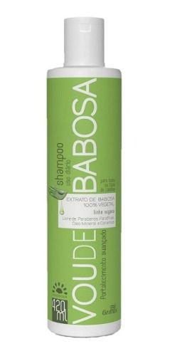 Shampoo Griffus Vou De Babosa 420ml