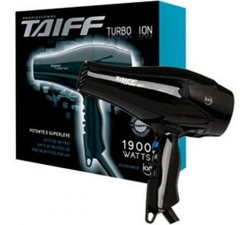 Secador Taiff Turbo Ion 1900watts 127v