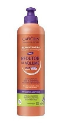 Relaxante Natural Redutor De Volume 300ml Capicilin Und