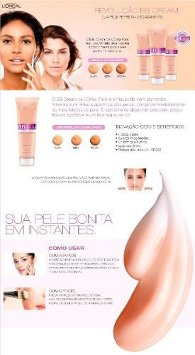 Bb Cream Fps 20 Loreal Paris Morena 30ml