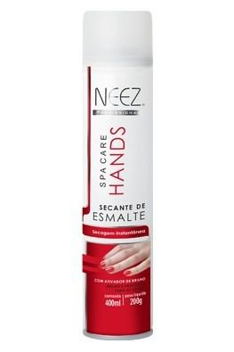 Secante De Esmalte 400ml Neez Spa Care Hands