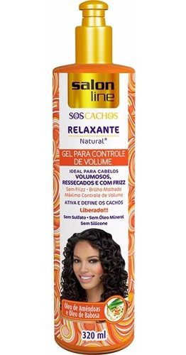 Gel Redutor De Volume Salon Line 320ml