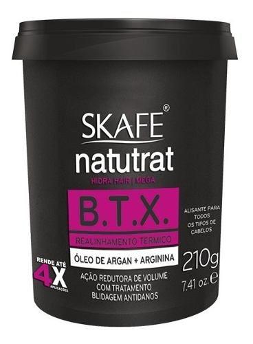 Redutor De Volume Skafe Natutrat Botox Tradicional 210g