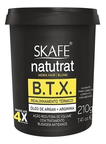 Redutor De Volume Skafe Natutrat Botox Blond 210g
