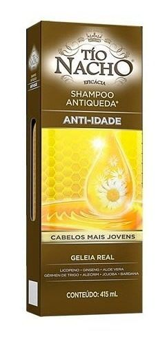 Shampoo Tio Nacho Anti-idade E Anti Idade Com 415 Ml