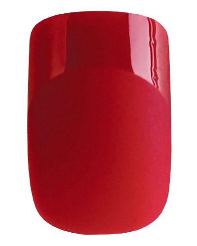 Unhas Autocolantes One Love Ol-0175 Vermelha