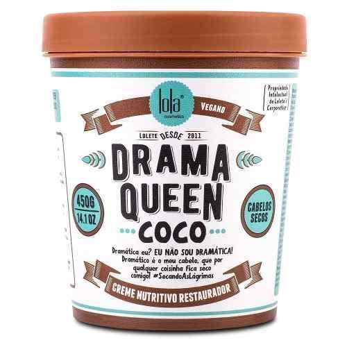 Creme Nutritivo Restaurador Lola Drama Queen Coco 450g