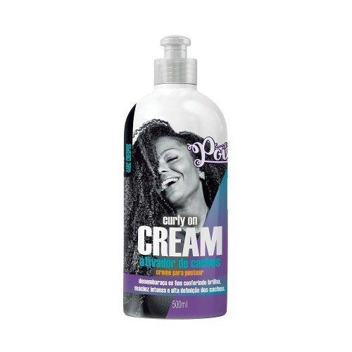 Ativador De Cachos Soul Power Curly On Cream 500ml Sae