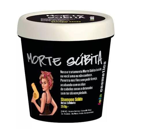 Shampoo Sólido Lola Morte Súbita 250g
