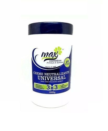 Creme Neutralizante Universal 3 Em 1 Pote De 1k Max