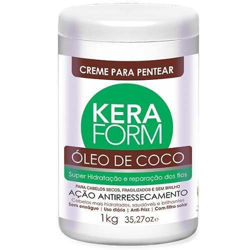 Keraform Skafe 1k Creme Para Pentear Òleo De Coco