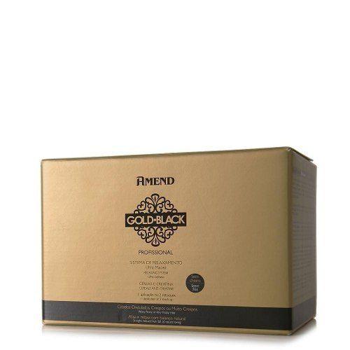 Relaxamento Guanidina 1 Aplicação / 2 Retoques Gold Black