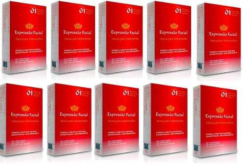 Kit Henna Expressão Facial 10 Unidades De 2.5g
