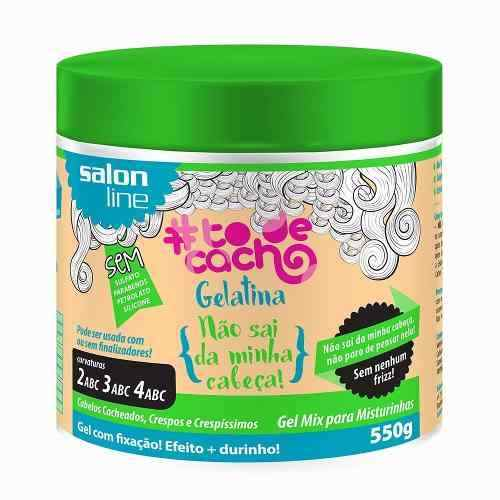 Gelatina #todecacho Salon Line 550g + Durinho