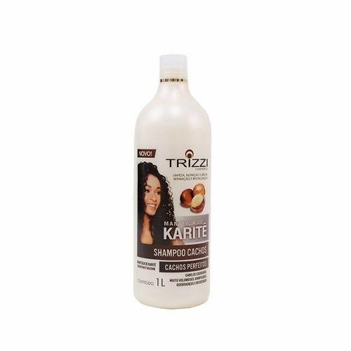 Trizzi Shampoo Cachos Manteiga De Karitê 1l