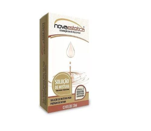 Solução De Mistura Henna Nova Estética 30ml
