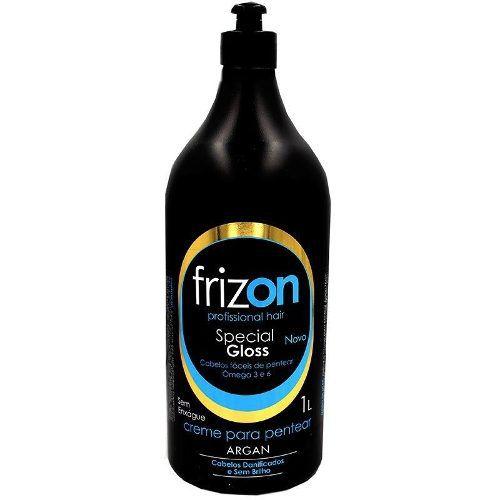 Creme Para Pentear Frizon Argan Special Gloss 1l Sae