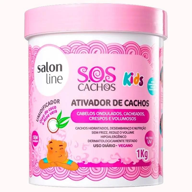 Ativador de Cachos salon line SOS Cachos Kids 1kg