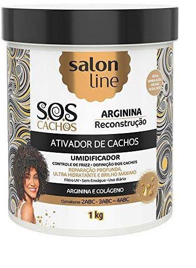 Ativador De Cachos Sos Reconstrução Salon Line 1kg