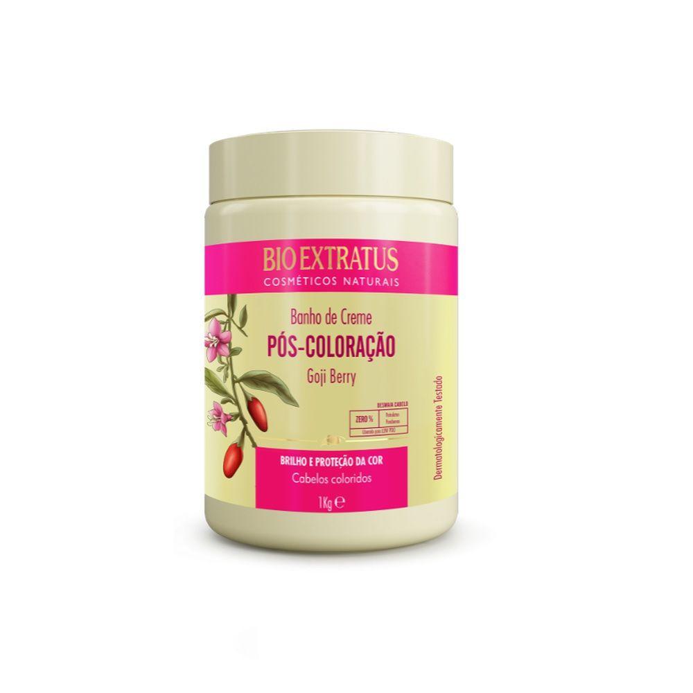 Banho de Creme Bio Extratus Pós - Coloração 1 Kg