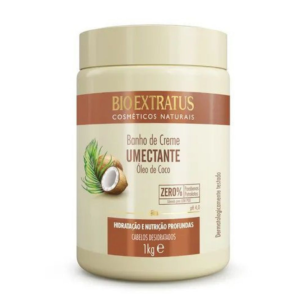 Banho de Creme Bio Extratus umectante Coco 1 Kg