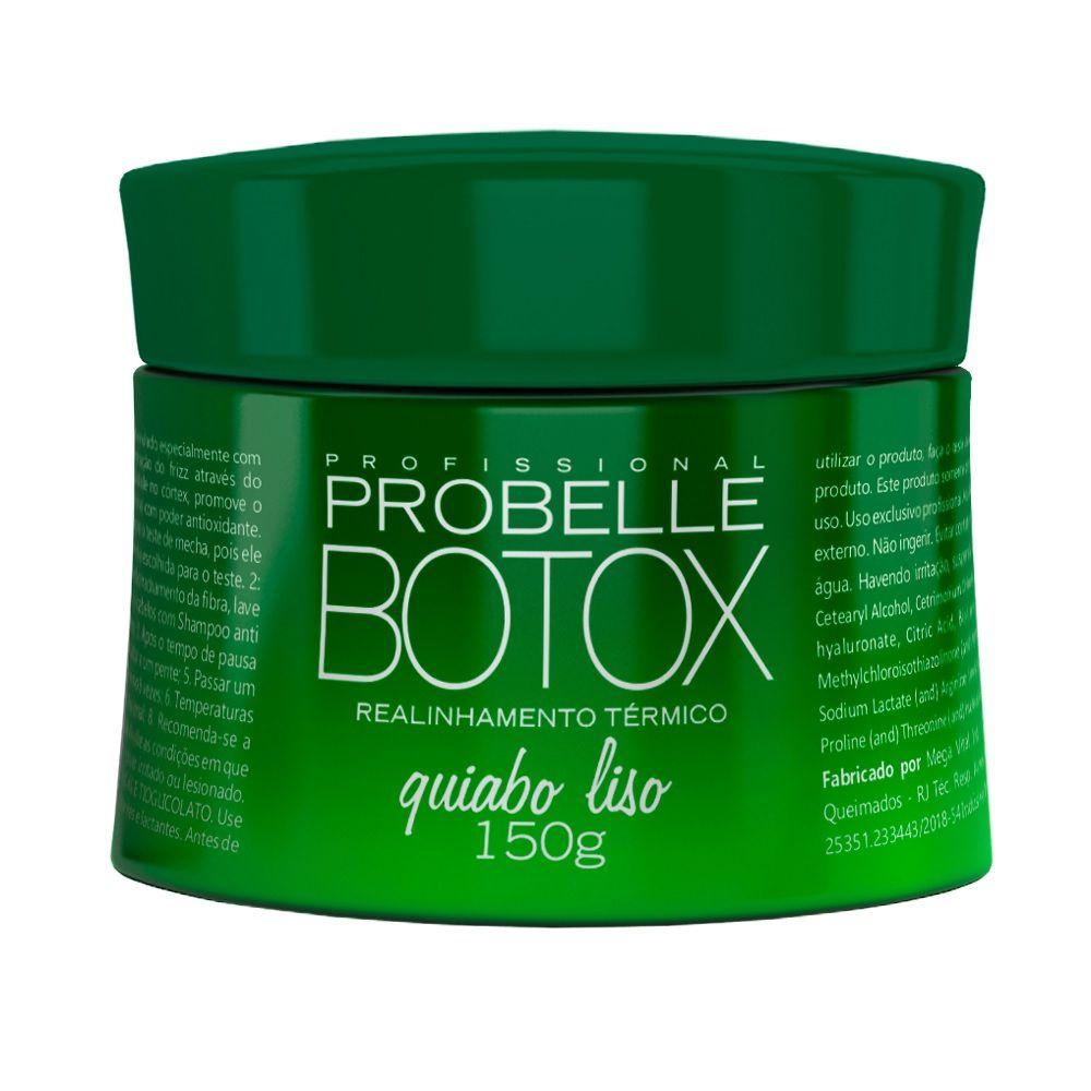 Botox Quiabo Liso 150g Probelle