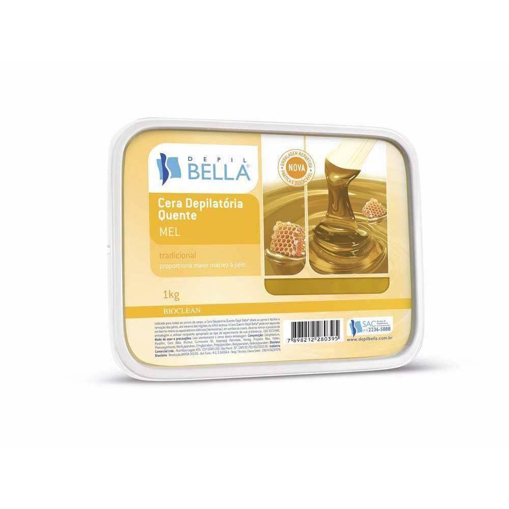 Cera Depilatória Quente 1kg - Depil Bella