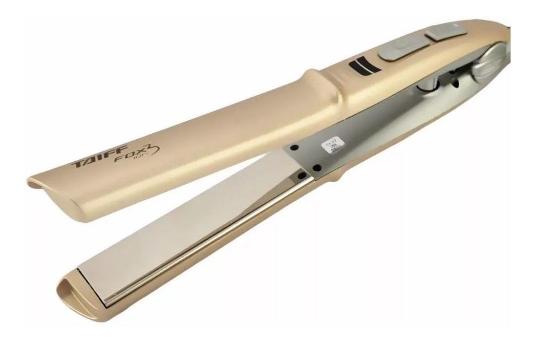 Chapa Taiff Fox Ion 3 Soft Gold Bivolt (200ºc / 230ºc)