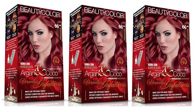 Coloracao Beautycolor 66.46 - Chama Provacante  (Kit C/3 )