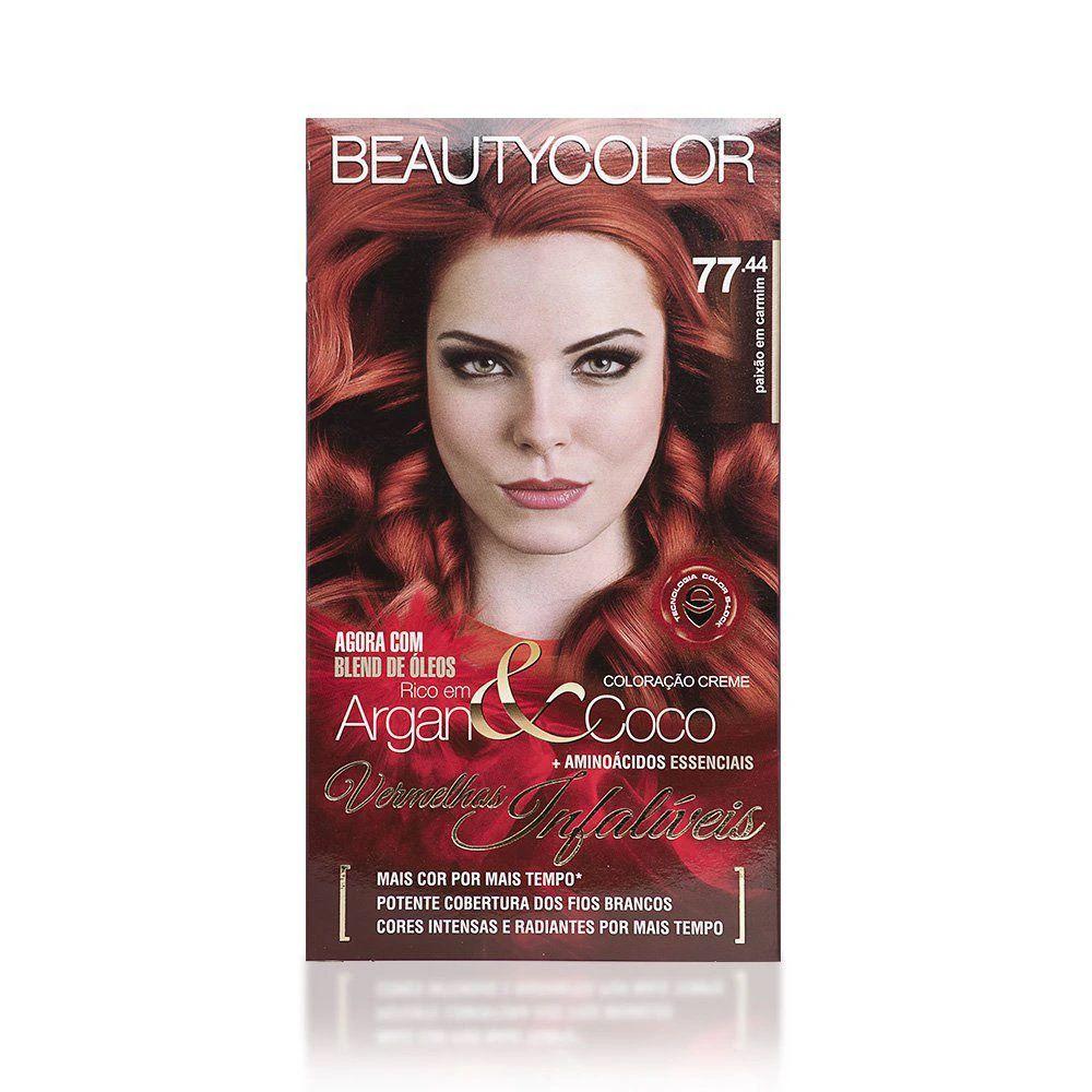 Coloracao Beautycolor 77.44 - paixão em carmim