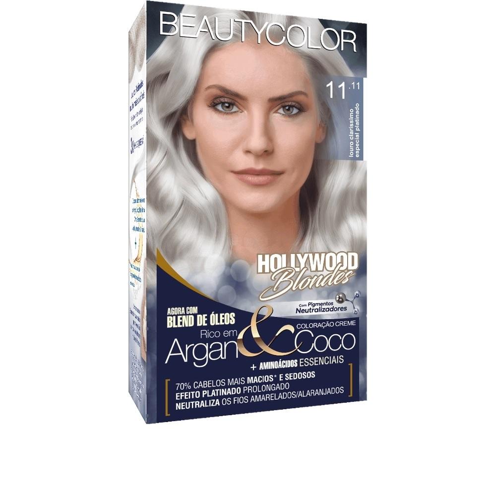 Coloração Beautycolor Kit Louro Ultra Claríssimo Especial  Platinado - 11.11