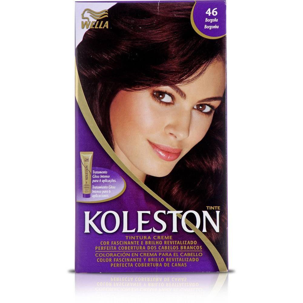 Coloração Koleston Kit 46 Borgonha - Wella