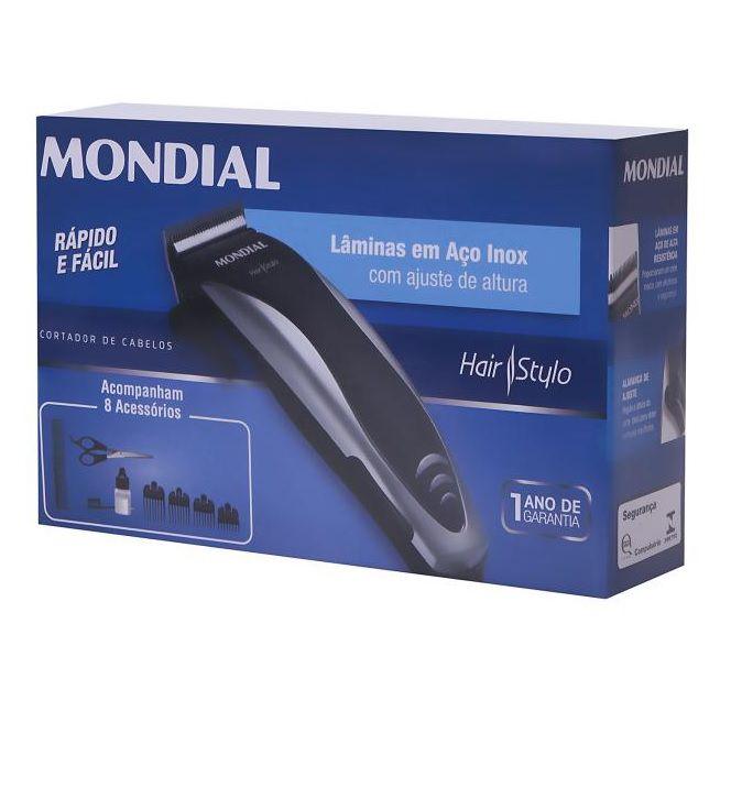 Cortador de Cabelos Mondial Hair Stylo CR-02
