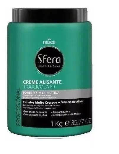Creme Alisante Sfera Tioglicolato Forte 1k