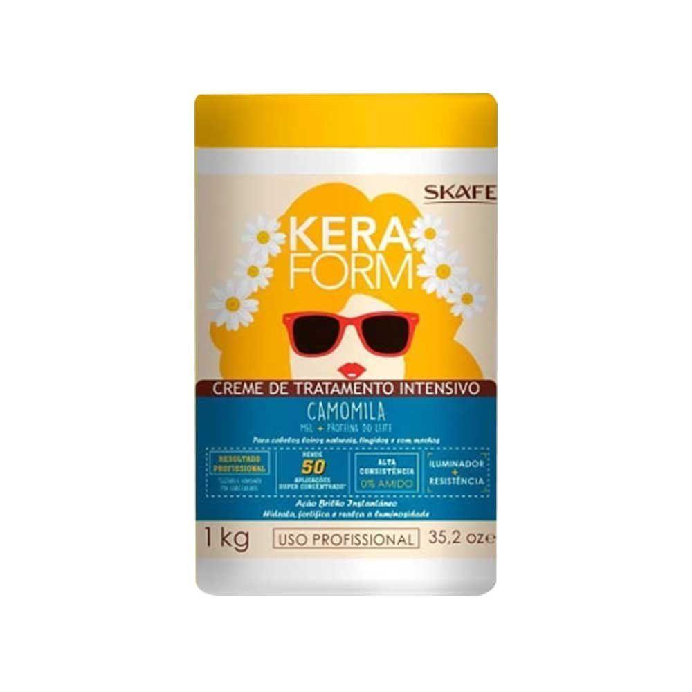 Creme de Tratamento Keraform 1kg Camomila