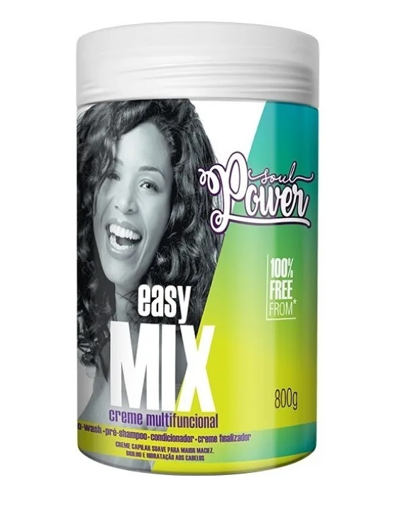 Creme Multifuncional Soul Power Easy Mix Beauty Color 800g
