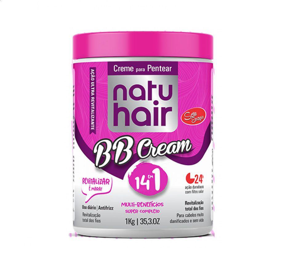 Creme Para Pentear Natuhair BB Cream 14 em 1 1kg